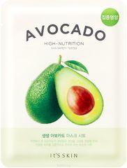 Смягчающая тканевая маска  It's Skin The Fresh Avocado авокадо, 21г
