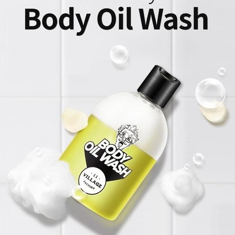 Гель-масло для душа, 300 мл / Village 11 Factory Body Oil Wash