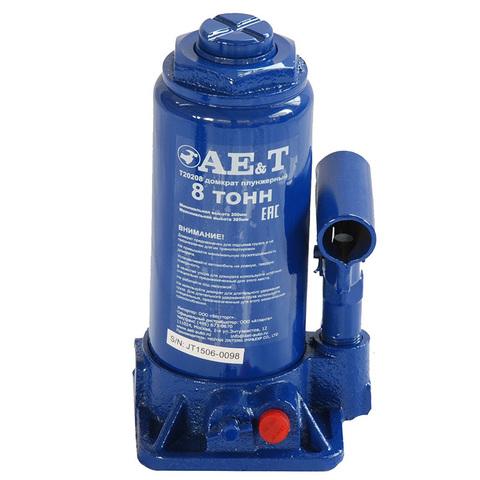 AE&T (T20208) Домкрат бутылочный 8 тонн