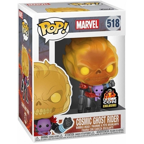 Фигурка Funko POP! Bobble: Marvel: Cosmic Ghost Rider (Exc) 43003