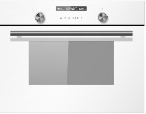 Компактный духовой шкаф Midea TF944EG9-WH