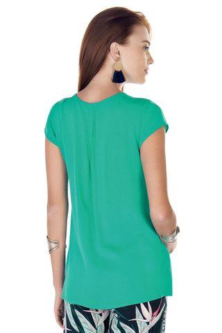 Блузка 09424 зеленый