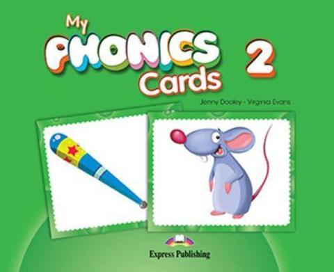 My Phonics 2 Cards (International). Карточки