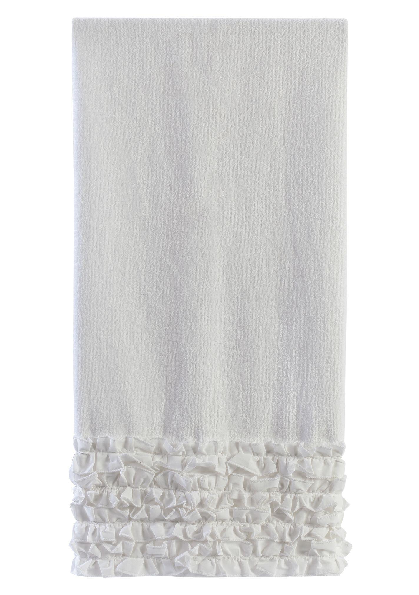 Полотенца Полотенце 64х127 Creative Bath Ruffles белое polotentse-mahrovoe-64h127-creative-bath-ruffles-ssha-indiya.jpg