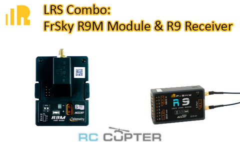 FrSky LRS combo: приёмник FrSky R9 16 Channel ACCT Long Range receiver + модуль FrSky R9M 900Mhz module дальнобойная система управления
