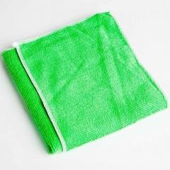 Набор из 2-х чистящих салфеток для автомобиля из микрофибры 14МР-026/1 зеленый