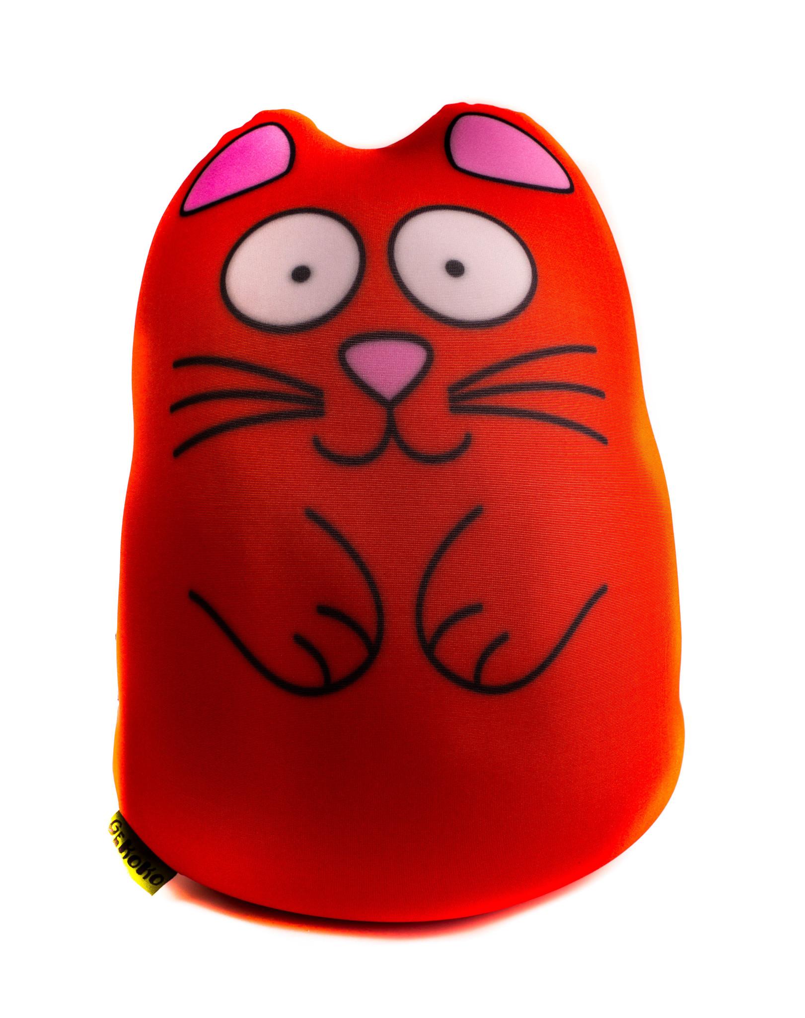 Муфта-подушка «Кот Огонек», цвет - красный, 35 см от 1 090 руб