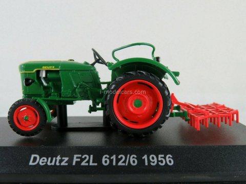 Tractor Deutz F2L 612/6 1956 1:43 Hachette #123