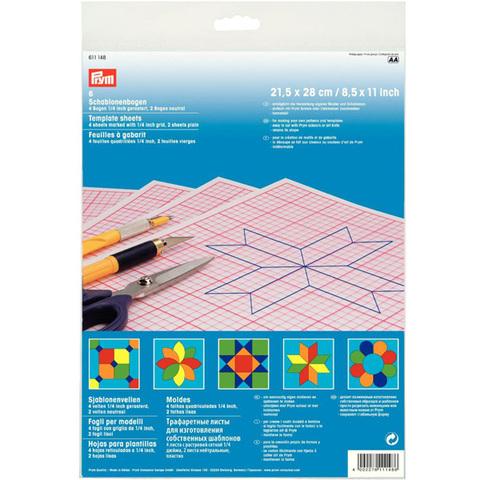 Трафаретные листы для изготовления шаблонов PRYM 611148