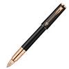 Parker Ingenuity - Black Rubber Pink Gold PVD GT, ручка 5th пишущий узел, F, BL