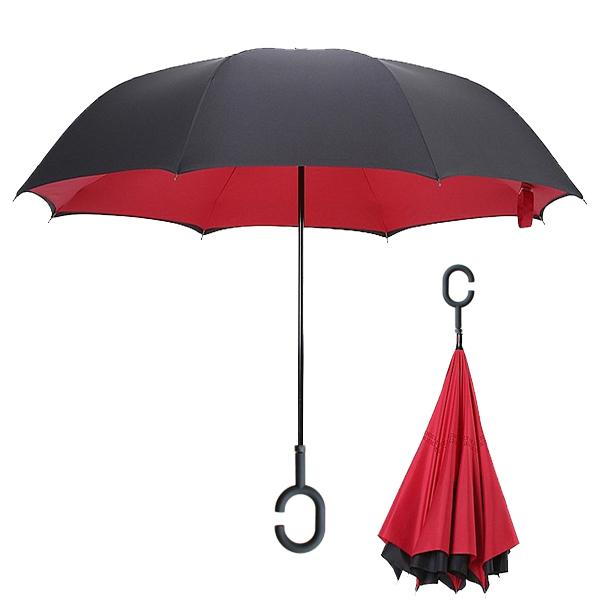 Красный цвет зонта