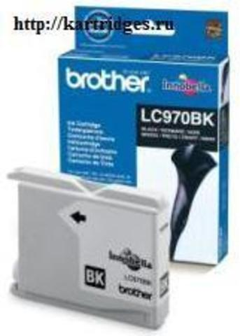 Картридж Brother LC970BK