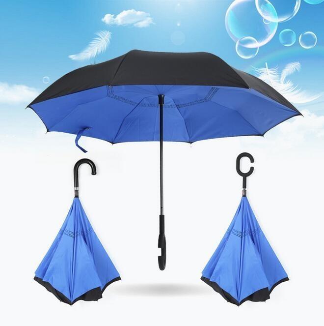 Синий цвет зонта