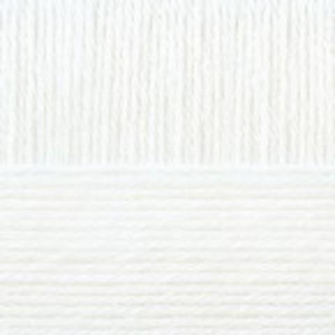 Купить Пряжа Пехорка Детская новинка Код цвета 001-Белый | Интернет-магазин пряжи «Пряха»