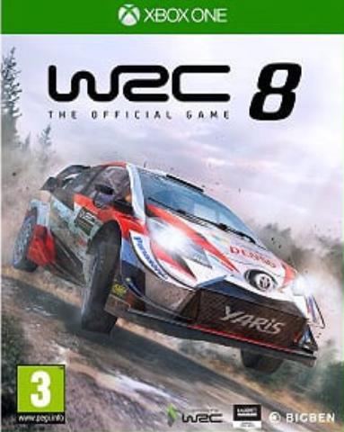 Xbox One WRC 8 (русские субтитры)