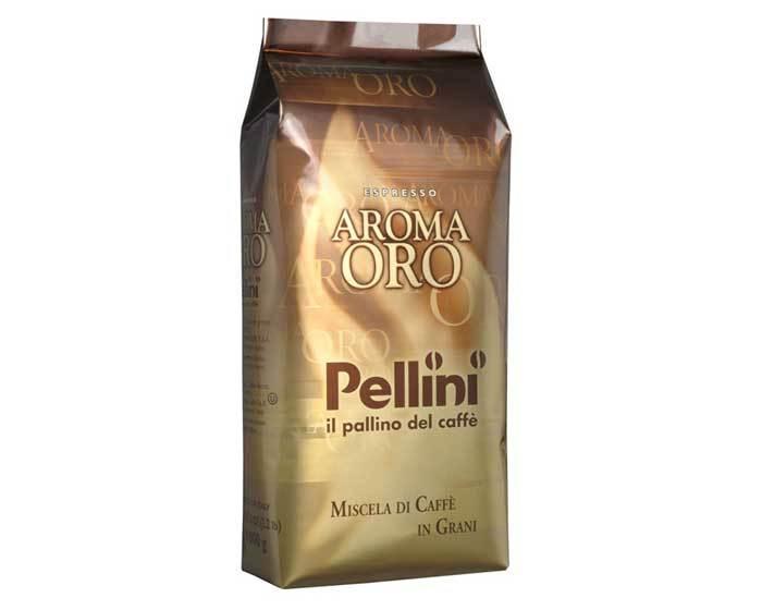 Кофе в зернах Pellini Oro, 1 кг (Пеллини)