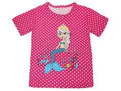DLM11-69 футболка детская, малиновая