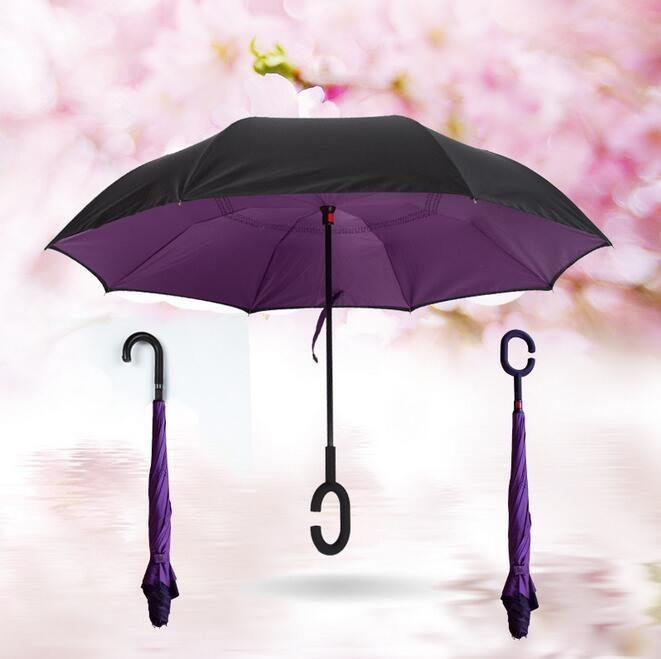 Фиолетовый цвет зонта