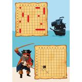 Мини игра для детей Морской бой