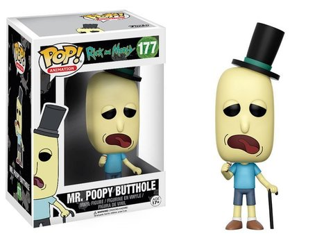 MR. Poopy Butthole Funko Pop! Vinyl Figure || Мистер Жопосранчик
