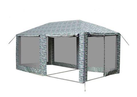 Шатер Митек «Пикник» 6,0х3,0 камуфлированный