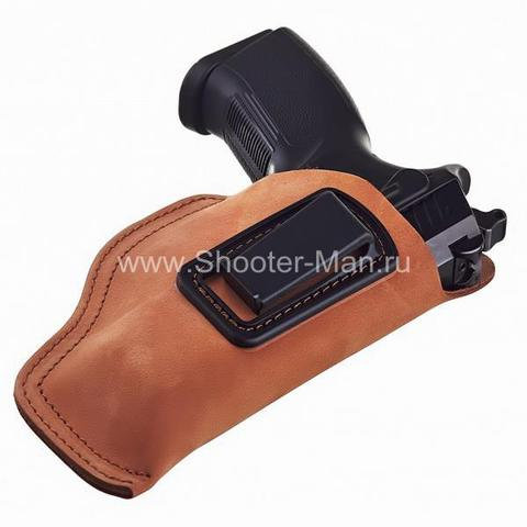 Кобура скрытого ношения для пистолета Grand Power Т 10 и Т 12 поясная ( модель № 16 ) Стич Профи