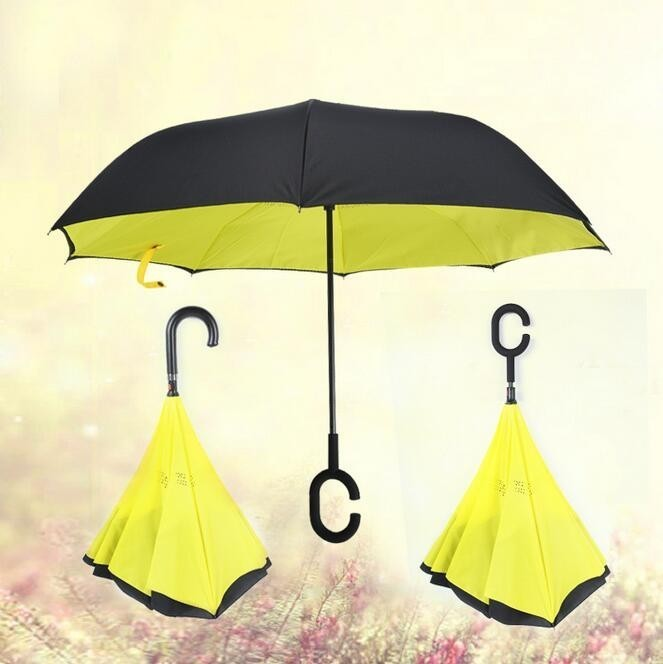 Жёлтый цвет зонта