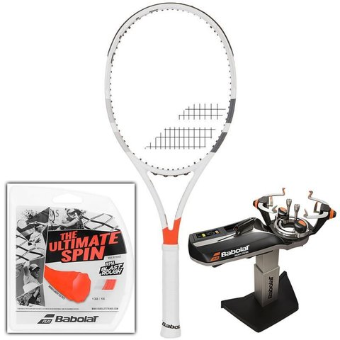 Ракетка теннисная Babolat Pure Strike VS Tour + струны + намотки / 101281