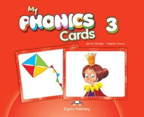 My phonics 3. Cards. Карточки