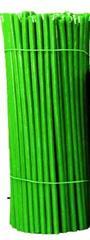 Зеленые восковые свечи 5 шт в наборе