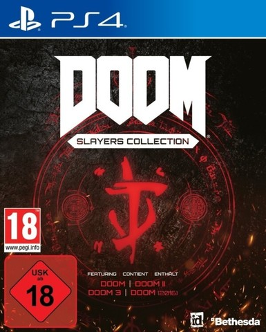 PS4 DOOM - Slayers Collection (русская версия)