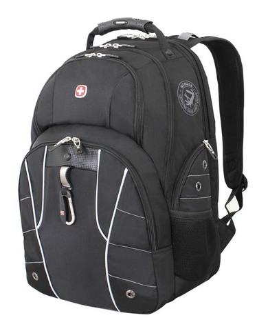 Рюкзак городской Wenger ScanSmart IV черный/серебристый 29 л