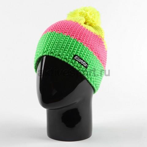шапка Eisbar star neon pompon kids