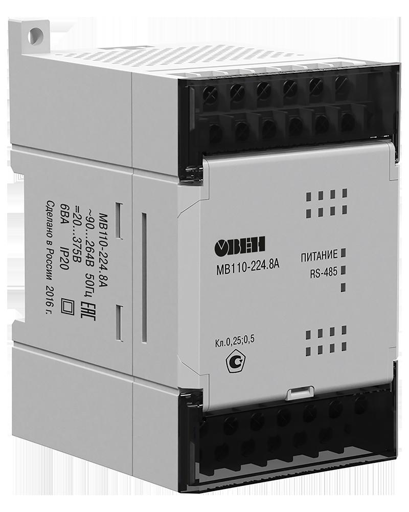 Модули аналогового ввода с универсальными входами (с интерфейсом RS-485) МВ110