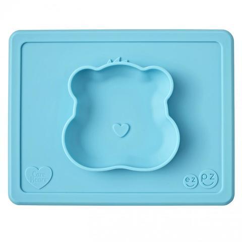 Тарелка Happy Bowl Заботливые мишки, ezpz
