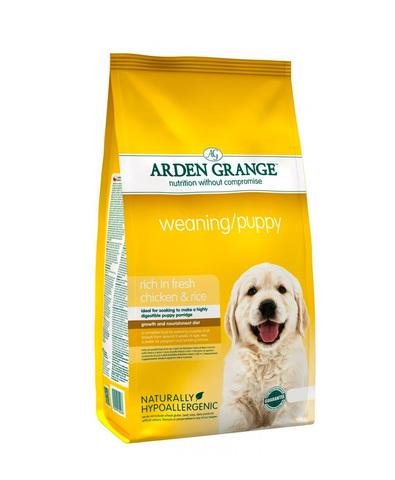 Arden Grange Weaning/Puppy сухой корм для щенков старше 3-х недель с Курицей 2 кг