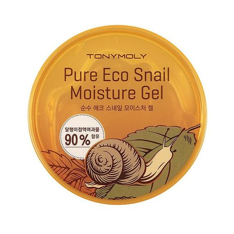 Tony Moly Гель для лица и тела с экстрактом улитки  Pure Eco Snail Moisture Gel
