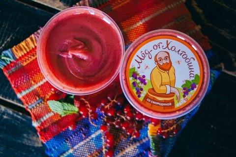 Крем-мёд натуральный с черной смородиной 1кг