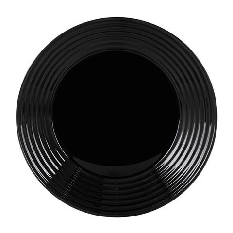 Тарелка суповая Luminarc Harena круглая 23 см Black (L7610)