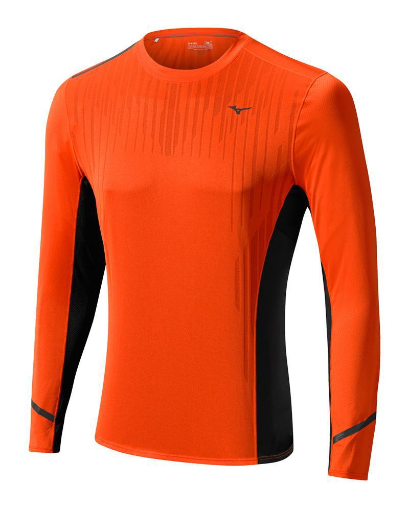 Мужская беговая рубашка Mizuno DryLite Premium Tee (J2GA5512 55)