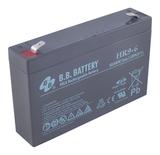 Аккумулятор для ИБП B.B.Bаttery HR9-6 (6V 9Ah / 6В 9Ач) - фотография