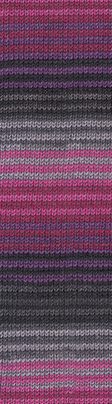 Alize Superwash 3326 розовый-бордо-серый