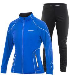 Лыжный костюм Craft PXC High Function Blue женский