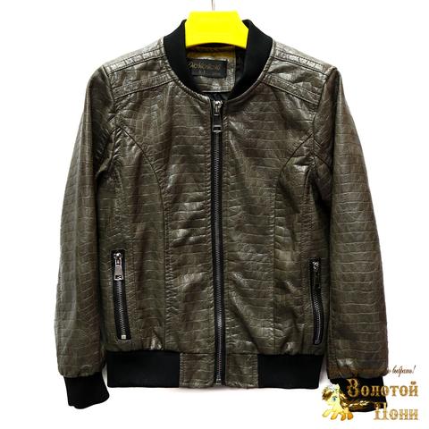 Куртка экокожа мальчику (5-10) 200318-W237.1