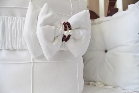 Комплект в кроватку Зефиринка, на 3 стороны кроватки