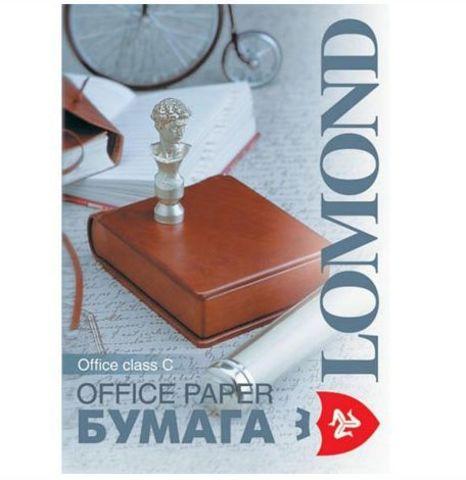 Офисная белая бумага Lomond Office, A4, класс C, 80 г/м2, 500 листов (101005)