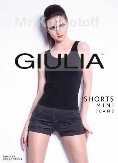 Леггинсы Giulia Shorts Mini Jeans 01
