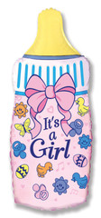 F Мини фигура Бутылочка для девочки, Розовый (14