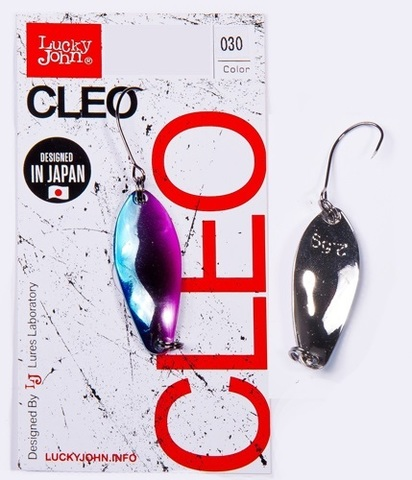 Блесна LUCKY JOHN Cleo 2,5 г, цвет 030, арт. LJCL25-030