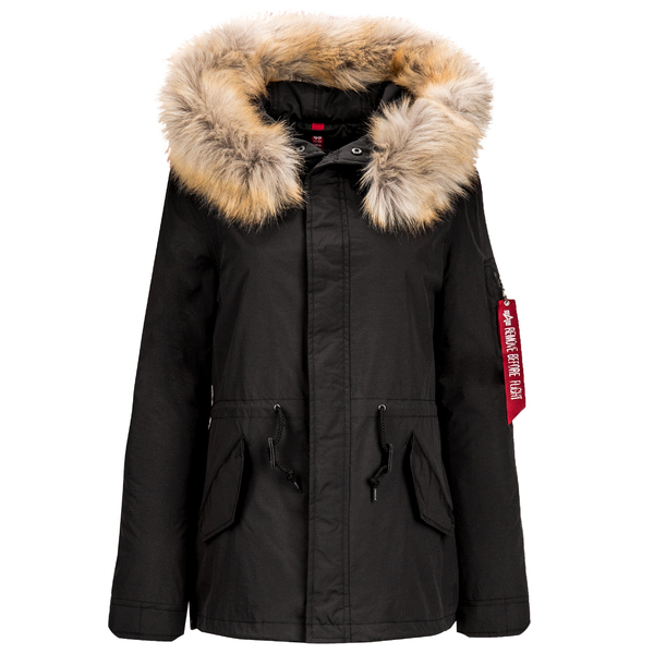 Парка Alpha Industries J-4 Impact Fishtail W Black